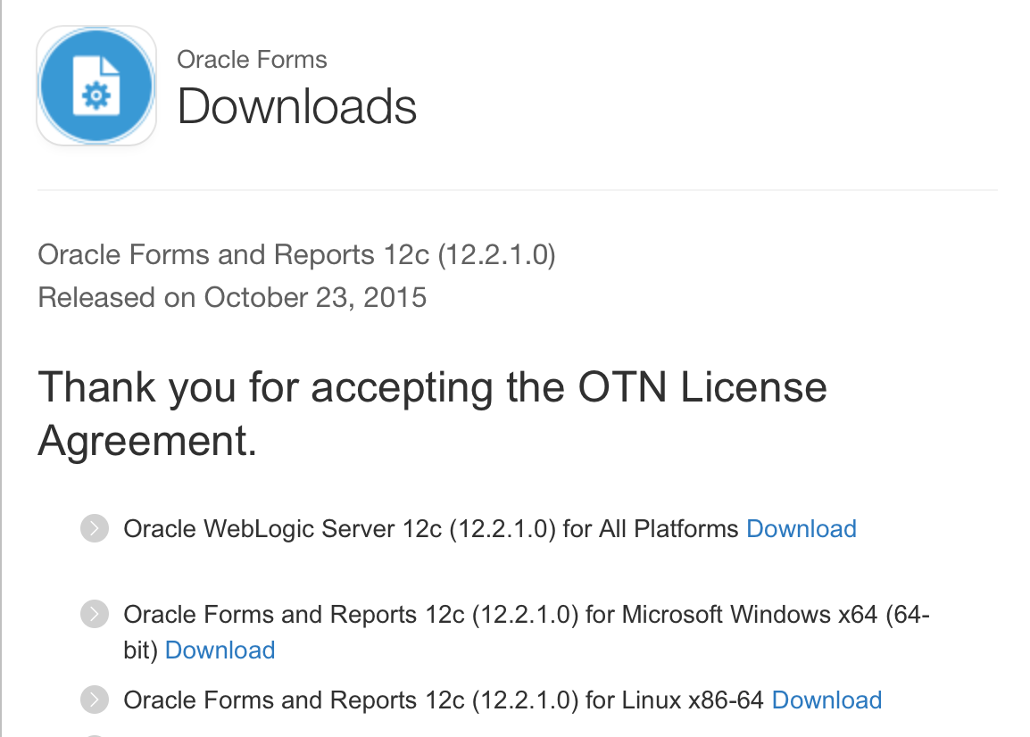 Oracle Forms & Reports 12c (12 2 1 0) released | Oracle-Stuff